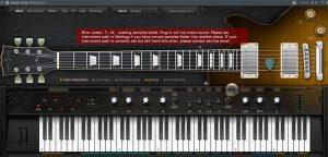 Ample Guitar G 2 - Error codes 7; 14;