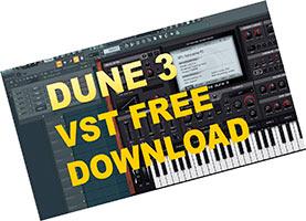 Dune 3 VST скачать торрент v3.2.0 FL Studio 20/12 32/64bit Presets бесплатно