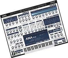 ANA 2 VST скачать торрент v2.0.94 Sonic Academy для FL Studio 20 плагин пресеты