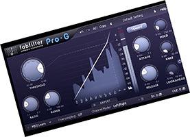 Fabfilter Pro G скачать v1.24 для FL Studio 20 VST торрент крякнутый бесплатно