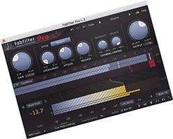 Fabfilter Pro L2 скачать торрент v2.05 крякнутый для FL Studio 20