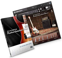 Scarbee Rickenbacker Bass скачать торрент Native Instruments для Kontakt Library