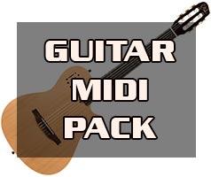 Guitar MIDI Pack (2021) FL Studio