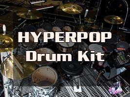 HYPERPOP Drum Kit (2021) REDDIT скачать