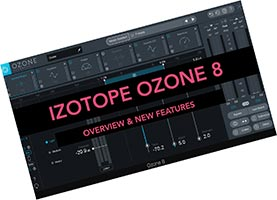iZotope Ozone 8 VST скачать торрент v8.01 для FL Studio 20 крякнутый