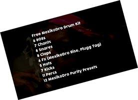 Mexikodro Drum Kit