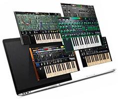 Roland Instruments Bundle 20.01.2020 VSTi, VSTi3 AAX x64 набор виртуальных инструментов